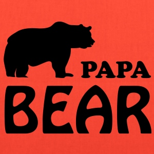 Papa T-Shirt - Papa bear - Tote Bag