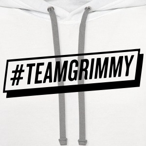 #TEAMGRIMMY Long Sleeve Shirts - Contrast Hoodie