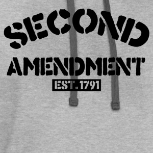 second amendment - Contrast Hoodie