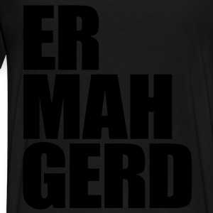 Ermahgerd Zip Hoodies/Jackets - Men's Premium T-Shirt