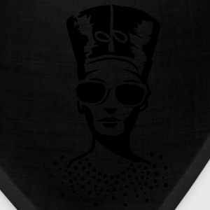 A woman wearing sunglasses with Nefertiti hat Hoodies - Bandana
