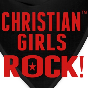 CHRISTIAN GIRLS ROCK! Women's T-Shirts - Bandana