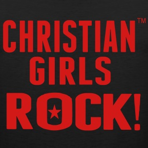 CHRISTIAN GIRLS ROCK! Women's T-Shirts - Men's Premium Tank