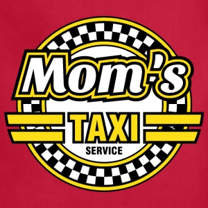 Mom's Taxi Service Women's T-Shirts - Adjustable Apron