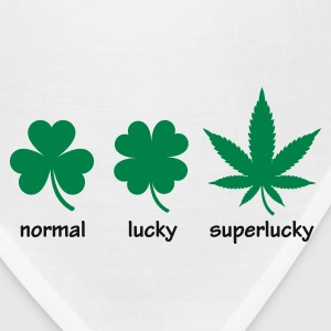 Superlucky Hemp Leaf T-Shirts - Bandana