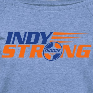 Indy Strong - Women's Wideneck Sweatshirt