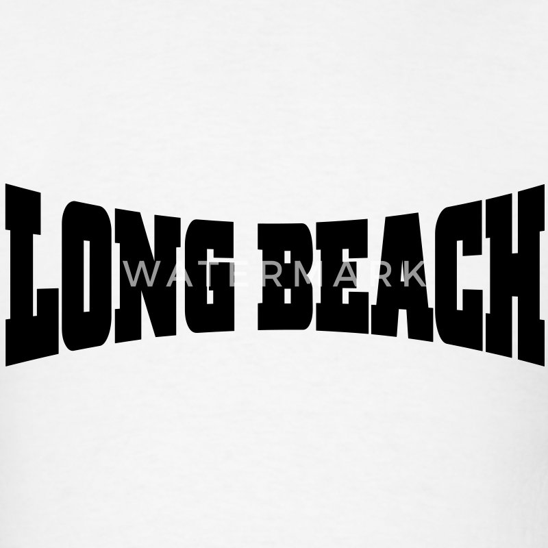 Long Beach T-Shirts - Men's T-Shirt