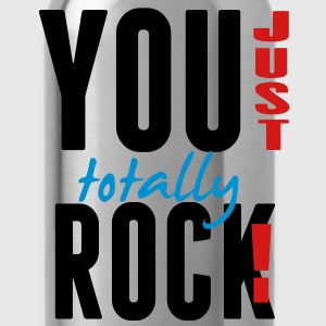 YOU JUST TOTALLY ROCK! Hoodies - Water Bottle