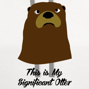 Significant Otter T-Shirts - Contrast Hoodie