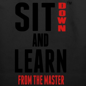 SIT DOWN AND LEARN FROM THE MASTER Hoodies - Eco-Friendly Cotton Tote