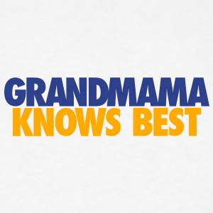 BABY GRANDMAMA KNOWS BEST LJ2 - Men's T-Shirt