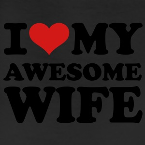 I love my awesome wife T-Shirts - Leggings