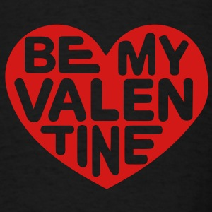 Be my valentine heart Bags  - Men's T-Shirt