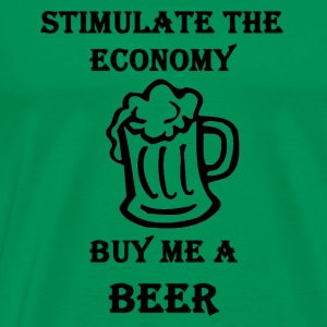 Buy me a BEER Hoodies - Men's Premium T-Shirt
