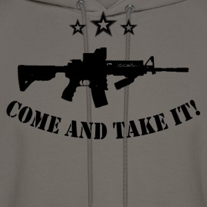 come and take it - Men's Hoodie