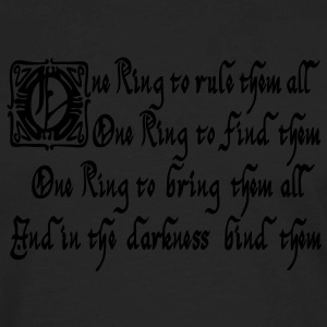 One ring to rule them all Women's T-Shirts - Men's Premium Long Sleeve T-Shirt