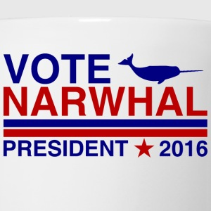 Vote Narwhal 2016 T-Shirts - Coffee/Tea Mug