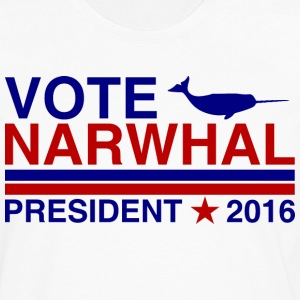 Vote Narwhal 2016 T-Shirts - Men's Premium Long Sleeve T-Shirt