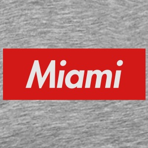 Miami Reigns Supreme Crew - Men's Premium T-Shirt