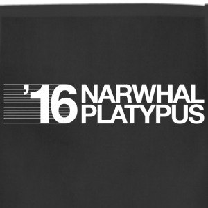 Narwhal + Platypus 2016 White T-Shirts - Adjustable Apron