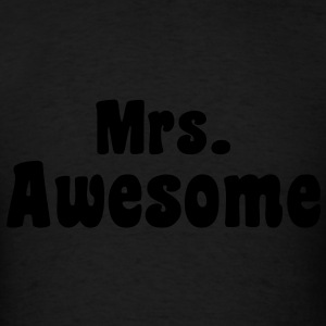 Mrs. Awesome - KCCO Hoodies - Men's T-Shirt