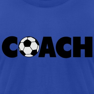 Soccer Coach Hoodies - Men's T-Shirt by American Apparel