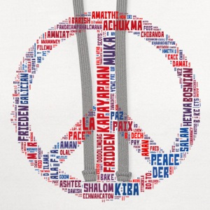 Peace Sign Translated Tee - Contrast Hoodie
