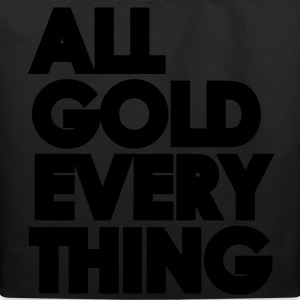 All Gold Everything - Eco-Friendly Cotton Tote