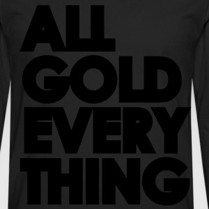 All Gold Everything - Men's Premium Long Sleeve T-Shirt