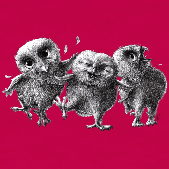 Three Crazy Owls