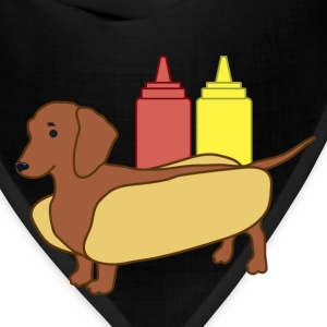 Weenie Dog Shirt for Women - Bandana