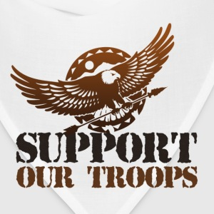 StichRulez Support Our Troops - Bandana
