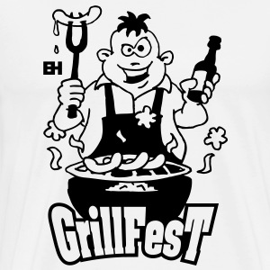 GrillFest Hoodies - Men's Premium T-Shirt