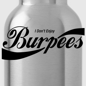 Enjoy Burpees - Red (Womens) - Water Bottle