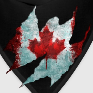 Canadian Flag Tear - Bandana
