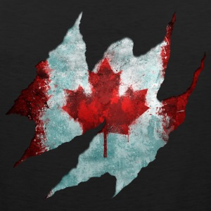 Canadian Flag Tear - Men's Premium Tank