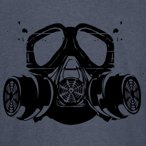 gas mask Hoodies - Vintage Sport T-Shirt