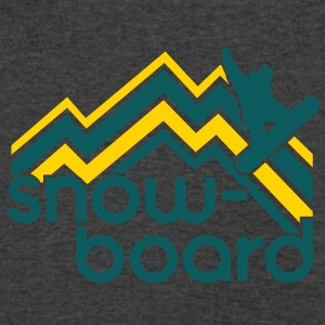 snowboard Tanks - Men's V-Neck T-Shirt by Canvas