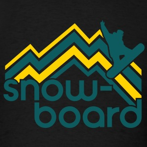 snowboard Hoodies - Men's T-Shirt