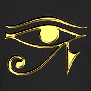 Eye of Horus - symbol protection & healing I Hoodies - Men's Premium Long Sleeve T-Shirt
