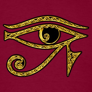 Eye of Horus reverse Moon eye of Thot  I Hoodies - Men's T-Shirt