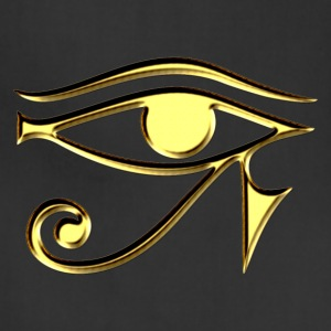 Eye of Horus - symbol protection & healing I Hoodies - Adjustable Apron