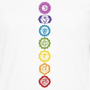 chakra symbol - Men's Premium Long Sleeve T-Shirt