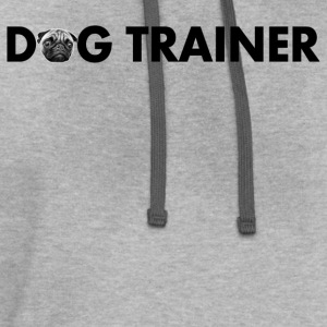 dog trainer - Contrast Hoodie