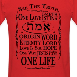 Truth and Life Hoodies - Men's T-Shirt