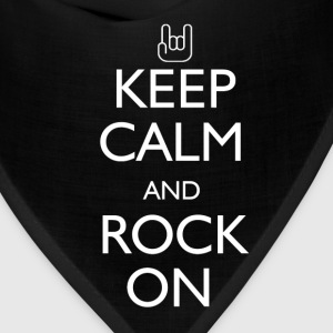 Keep Calm and Rock On - Bandana