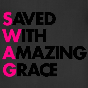 Saved With Amazing Grace (SWAG) - Adjustable Apron