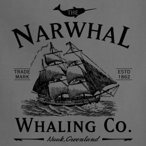 The Narwhal Whaling Company T-Shirts - Adjustable Apron