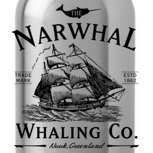 The Narwhal Whaling Company T-Shirts - Water Bottle