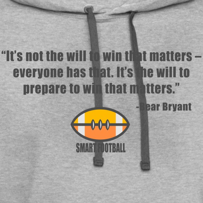 Preparing with Bear Bryant